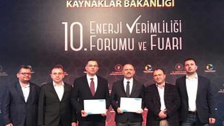 Kastamonu Entegre'nin enerji verimliliğine ödül