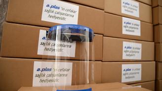 A-Plas'tan BUÜ Hastanesi'ne siperlik bağışı