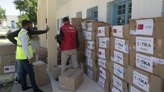TİKA'dan Tunus'ta 700 aileye ramazan yardımı