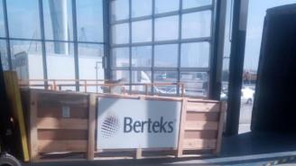 Yeni Havalimanı'ndan ilk ihracat Bursalı Berteks'ten