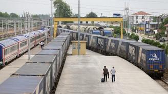 Marmaray geçişli ilk ihracat blok treni yola çıkıyor