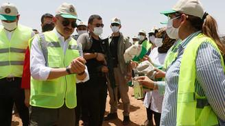 Pakdemirli: 70 milyon liralık yatırım hayata geçirildi