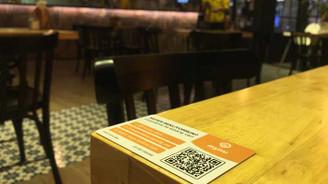 Restoranlarda temassız sipariş dönemi