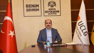 UCLG Eş Başkanı Altay dünya şehirlerine Konya modelini anlattı