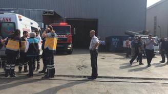 Bursa Organize Sanayi Bölgesi'nde patlama: 11 yaralı