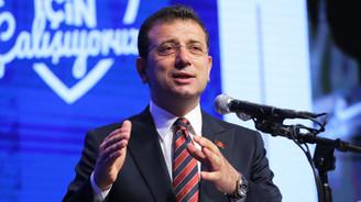 İmamoğlu, belediyenin bir yıllık faaliyetlerini anlattı
