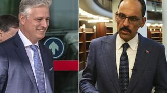 Cumhurbaşkanlığı Sözcüsü Kalın, ABD Ulusal Güvenlik Danışmanı O'Brien ile görüştü