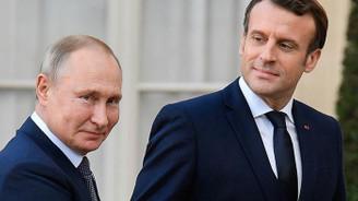 Putin ile Macron arasında Libya görüşmesi
