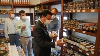 Bodrum Tarımsal Kalkınma Kooperatifi'nin ilk satış noktası açıldı