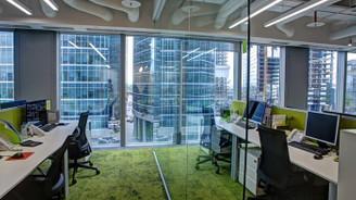 Evden çalışma ile boş kalan plaza ofisleri dönüştürülüyor