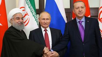 Cumhurbaşkanı Erdoğan, Putin ve Ruhani Suriye'yi görüşecek