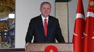 Cumhurbaşkanı Erdoğan: 24 Temmuz'da Ayasofya'yı ibadete açmayı planlıyoruz