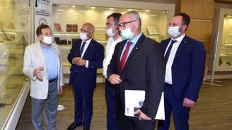Hopa ve Trabzon iş dünyası projeleri konuştu
