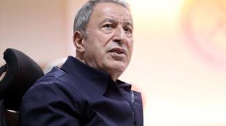 Bakan Akar ve Orgeneral Güler Libya'da