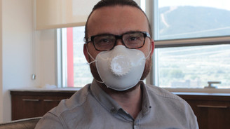 Bergama Plastik'ten yeniden kullanılabilir filtreli maske