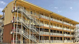 Dorçe, 3 kıtada prefabrik hastane yapacak