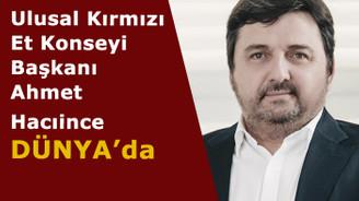 Hacıince Şirketler Grubu Başkanı Ahmet Hacıince DÜNYA'da