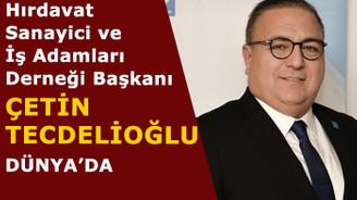 HISİAD Başkanı Çetin Tecdelioğlu, Dünya Talks'ta