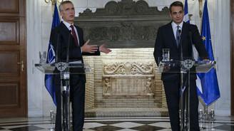 NATO Genel Sekreteri Stoltenberg, Yunanistan Başbakanı Miçotakis ile görüştü