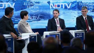 Bakan Albayrak, Davos oturumunda konuştu