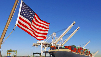 ABD'de dış ticaret açığı yüzde 7,5 azaldı