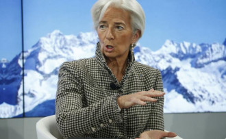 Lagarde: Trump, 'dibe doğru yarış' başlatabilir
