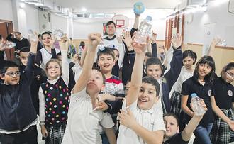 """İlkokullarda sağlıklı adımlar"""" hareketi"""