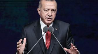 Cumhurbaşkanı Erdoğan, Türk ve ABD'li iş insanları ile bir araya geldi