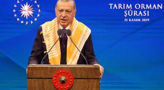 Cumhurbaşkanı Erdoğan, Tarım Şurası'nda konuşuyor
