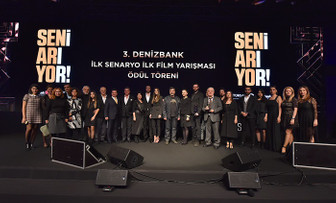 DenizBank İlk Senaryo İlk Film Yarışması ödülleri dağıtıldı