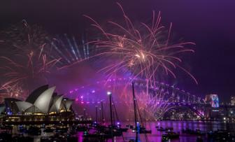Sidney'de kutlamalar çocuklar için erken başladı