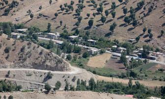Kuzey Irak'taki Kandil Dağı görüntüledi