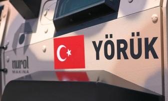 Türk zırhlısı Yörük'ten güç gösterisi