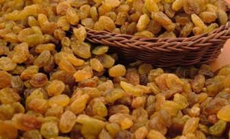 Kuru üzüm fiyatları bir yılda yüzde 73 arttı
