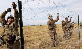 ABD ordusu eylül sonuna kadar Meksika sınırında