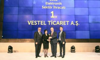 Elektrik-elektronikte ihracat lideri Vestel