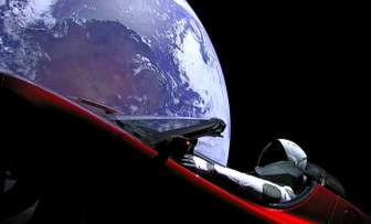 SpaceX'in Starman'i nerede?