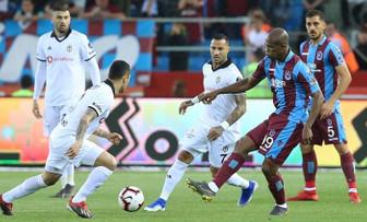 Trabzonspor, Beşiktaş'ı 2 golle geçti