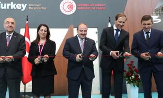 Türkiye'nin makinecileri Rusya Innoprom Fuarı'nda bir araya geldi