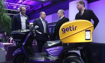 Varank, Silikon Vadisi'nden yatırım alan Getir'i ziyaret etti