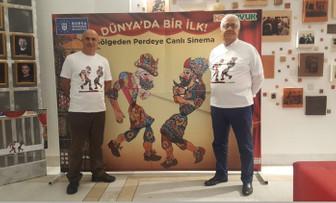 HasTavuk, Karagöz ve Hacivat'ı perdeden sinemaya taşıdı
