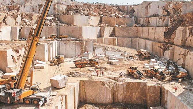 Mermer ihracatı 230 kat büyüdü