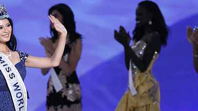 2012'nin dünya güzeli Çinli