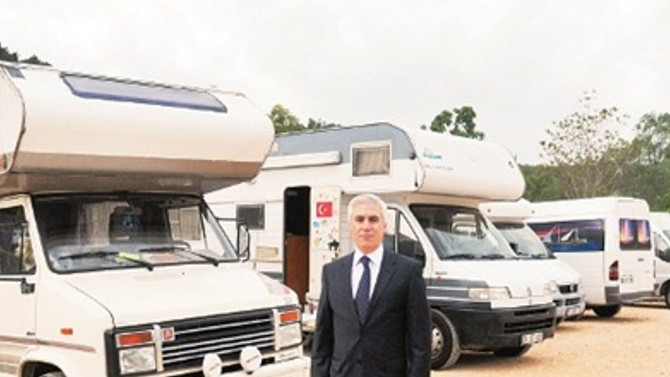 Bursa termalden sonra karavan ve kamp turizminde büyüyecek