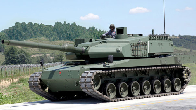 Otokar'ın en önemli projesi 'milli tank Altay'