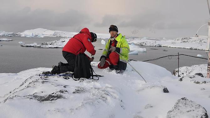 İTÜ Antarktika'ya bilim insanı gönderdi