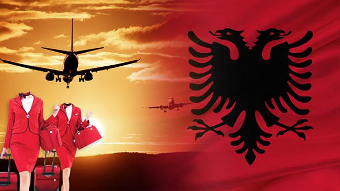 Arnavutluk havayolları için üniforma yaptırılacaktır