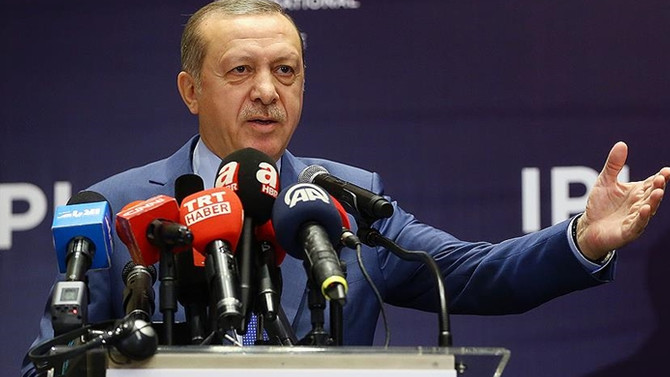 Erdoğan: İsrail'in kararı provokasyon