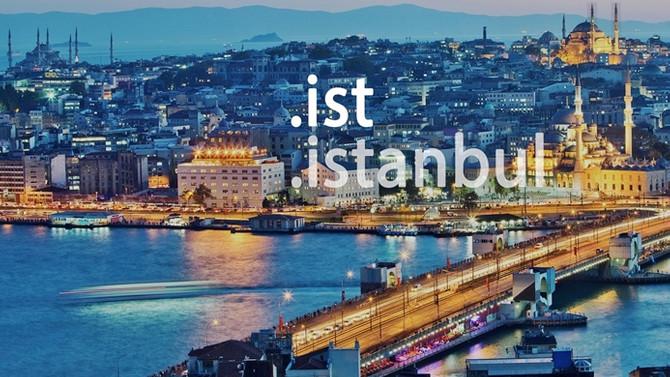 İstanbul'a özel uzantıları, 30 bin site kullanıyor