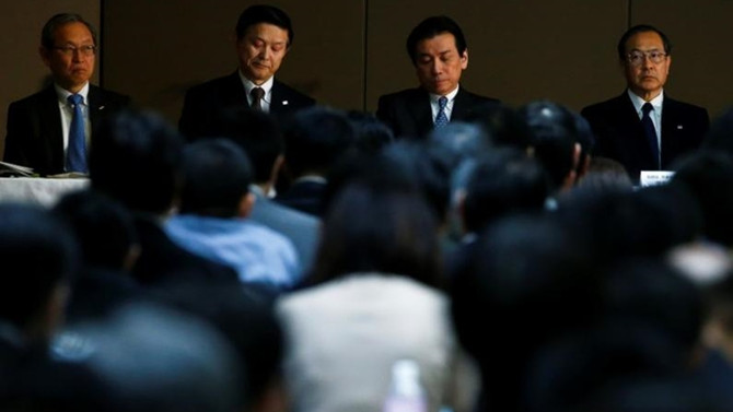 Toshiba CEO'su istifa etti